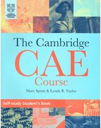 The Cambridge CAE Course – Self-Study Student's Book