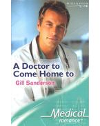 A Doctor to Come Home to - Sanderson, Gill