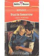 Trust in Tomorrow