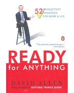 Ready for Anything – 52 Productivity Principles for Work and Life