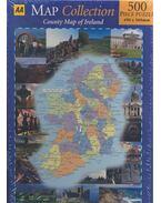 County Map of Ireland