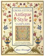Cross Stitch  - Antique Style Samplers - Greenoff, Jane