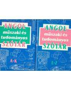 Angol-magyar műszaki és tudományos szótár I-II.