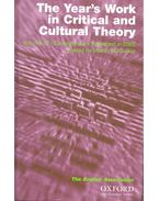 The Year's Work in Critical and Cultural Theory (2002)