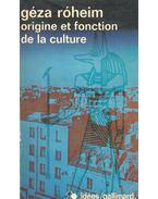 Origine et fonction de la culture