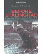 Before Stalingrad