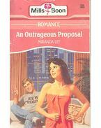 An Outrageous Proposal