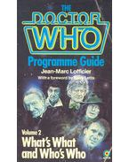 The Doctor Who Programme Guide – Volume 2