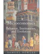Microeconomics – Behaviour, Institutions, and Evolution