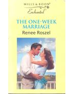 The One-Week Marriage