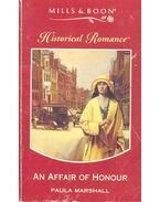 An Affair of Honour