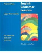 English Grammar Lessons Upper-Intermediate – An interactive classroom grammar