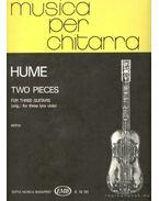 Két trió (gitárokra) - Hume, Tobias