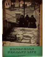 Hungarian Peasant Life