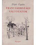 Franciaországi változatok - Illyés Gyula