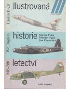 Ilustrovaná historie letectví - MB-200, Wellington, Iljusin Il-28