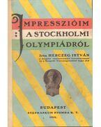 Impresszióim a stockholmi olympiádról