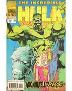 The Incredible Hulk Annual Vol. 1 No. 20