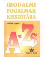 Irodalmi fogalmak kisszótára A-Zs (kiegészítésekkel) - Bárdos László, Szabó B. István, Vasy Géza