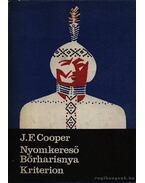 Nyomkereső Bőrharisnya - J. F. Cooper