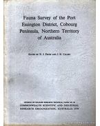 Fauna Survey of the Port Essington District, Cobourg Peninsula, Northern Territory of Australia - J. H. Calaby, Frith, H. J.