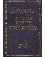 Miniatűr könyvek bibliográfiája (mini)
