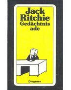 Gedächtnis ade - Jack Ritchie