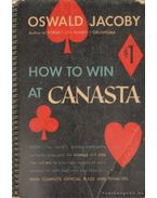 How to win at Canasta (angol) - Jacoby, Oswald