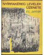 Nyírfakéreg levelek üzenete - Janyim, V. L.