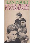 Six etudes de spychologie - Jean Piaget