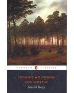 Selected Poetry - Johann Wolfgang Goethe