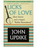 Licks of love - John Updike
