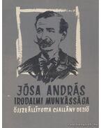 Jósa András irodalmi munkássága