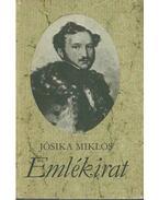 Emlékirat (dedikált) - Jósika Miklós