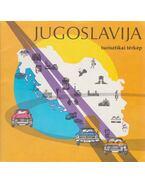 Jugoslavija turisztikai térkép