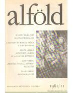 Alföld 1981/11. - Juhász Béla