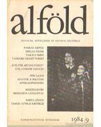 Alföld 1984/9. - Juhász Béla