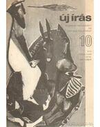 Új írás 1976/10. október - Juhász Ferenc