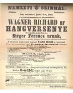 Wagner Richard - Wagner Ridhard és Magyarország I-II. kötet egyben