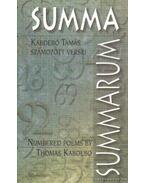 Summa Summarum - Kabdebó Tamás