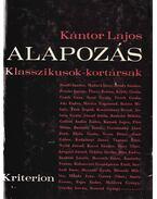 Alapozás - Kántor Lajos