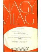 Nagyvilág 1966/7-12. szám (fél évfolyam) - Kardos László