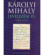 Károlyi Mihály levelezése VI. 1949-1955 - Károlyi Mihály