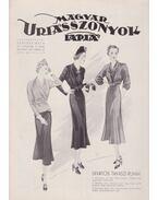 Magyar Uriasszonyok Lapja 1937. XIV. évfolyam 12. szám - Kertész Béla