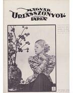 Magyar Uriasszonyok Lapja 1937. XIV. évfolyam 14. szám - Kertész Béla