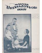Magyar Uriasszonyok Lapja 1937. XIV. évfolyam 16. szám - Kertész Béla