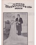 Magyar Uriasszonyok Lapja 1937. XIV. évfolyam 24. szám - Kertész Béla