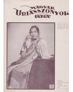 Magyar Uriasszonyok Lapja 1937. XIV. évfolyam 25. szám - Kertész Béla