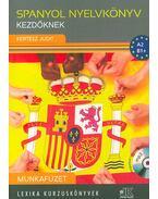 Spanyol nyelvkönyv kezdőknek - Munkafüzet - A2 - B1+ - MP3 CD melléklettel - Kertész Judit