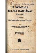 A Románia elleni hadjárat 1916-1917. I-III. kötet